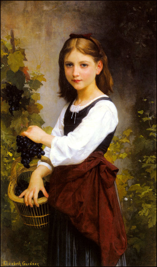 14.Elizabeth Jane Gardner Bouguereau Young Girl