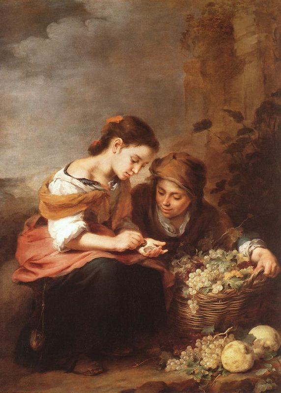18.Murillo - Vendedores de fruta