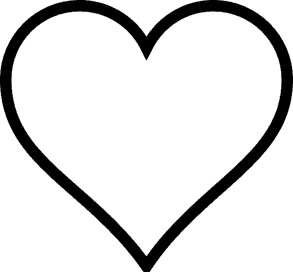 coloring pages heart shapes - photo#32