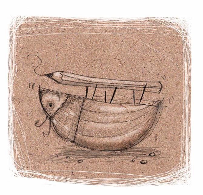 Σχέδιο της Ίριδας Σαμαρτζή από το βραβευμένο