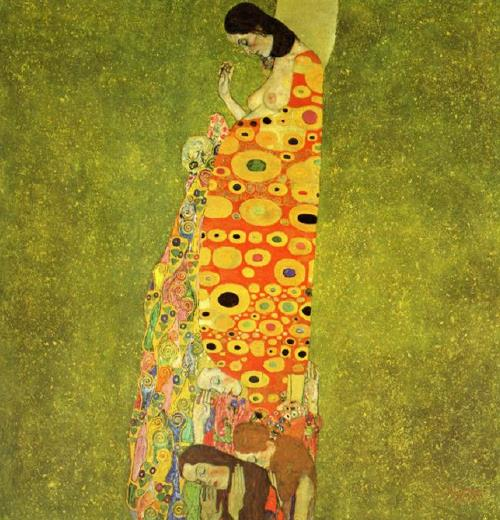 Gustav Klimt, Hope II, 1907