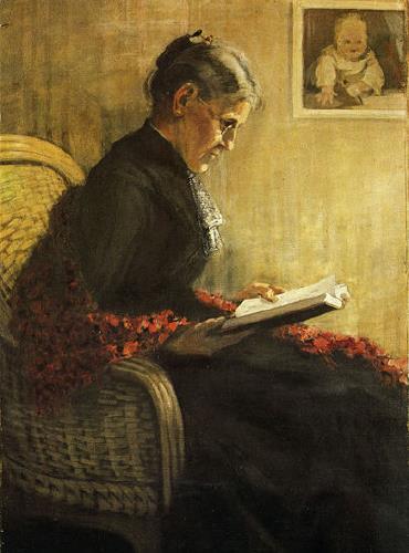 Franz Marc, Πορτραίτο της μητέρας του, 1902