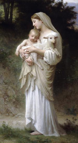 William Adolphe Bouguereau, Η Αθωότητα (L'innocence,1893)