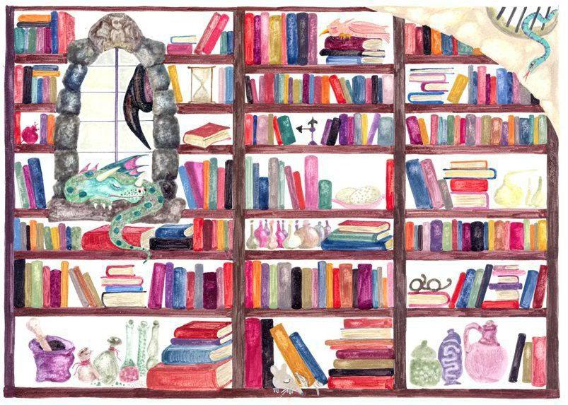 Αποτέλεσμα εικόνας για • Η βιβλιοθήκη της μάγισσας Σουμουτού